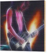 Aerosmith-joe-94-gb26a-fractal Wood Print
