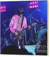 Aerosmith-joe Perry-00134-2 Wood Print