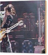 Aerosmith - Joe Perry - Dsc00052 Wood Print
