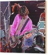 Aerosmith - Joe Perry -dsc00121 Wood Print