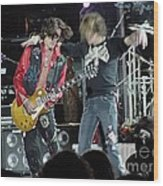Aerosmith - Joe Perry -dsc00182-2-1 Wood Print