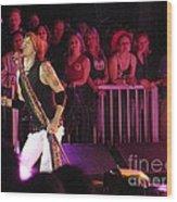 Aerosmith-steven Tyler-00074 Wood Print