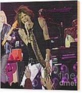 Aerosmith - Steven Tyler - Dsc00072 Wood Print