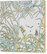 Aesop: Ant & Grasshopper Wood Print