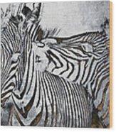 Affection Wood Print