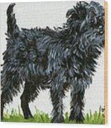 Affenpinscher Dog Wood Print