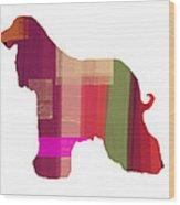 Afghan Hound 2 Wood Print by Naxart Studio