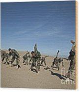 Afghan National Army Commandos Wood Print