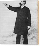 Afl Leader Samuel Gompers Wood Print