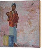 Africa Child Wood Print