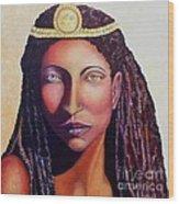 An African Face Wood Print