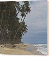 African Paradise Wood Print