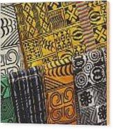 African Prints Wood Print