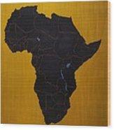 Afrika Wood Print