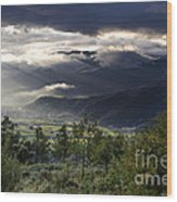 After A Pyrenean Storm 1 Wood Print
