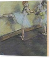 After Degas 2 Wood Print by Dorothy Siclare