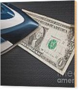 After Money Laundry Wood Print