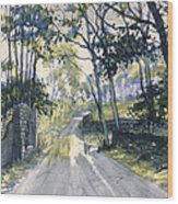 After The Storm On Woldgate Wood Print