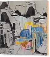 Afterimage - Palo Duro Canyon - Number Twelve Wood Print