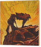 Aftermath Wood Print by Dayna Reed