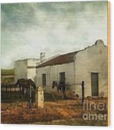 Afternoon At Lone Tree Ranch Wood Print