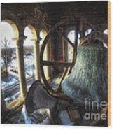 Afternoon In The Belfry Wood Print