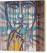 Aftertaste Wood Print by Adriana Garces