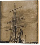 Age Of Sail Poster Wood Print by John Malone Halifax photographer