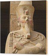Ageless Egyptian Queen Wood Print by Brenda Kean