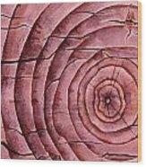 Ageless In Cherry Wood Print