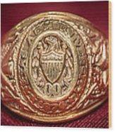 Aggie Ring Wood Print