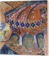 Agia Sophia Istanbul Wood Print by Jacki Wright