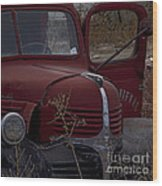 Aging Dodge   #3514 Wood Print
