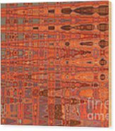 Aging Gracefully - Abstract Art Wood Print