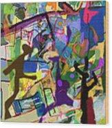 Self-renewal 15ab Wood Print