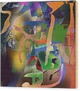 Self-renewal  9h Wood Print