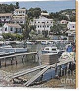 Agios Stefanos Corfu Wood Print