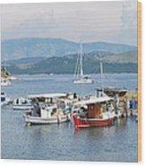 Agios Stefanos Wood Print
