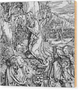 Agony In The Garden From The 'great Passion' Series Wood Print