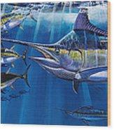 Agressor Off00140 Wood Print by Carey Chen