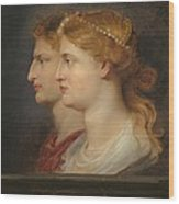 Agrippina And Germanicus Wood Print