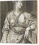 Agrippina Wife Of Tiberius Wood Print