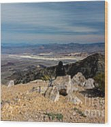 Aguereberry Point View Of Death Valley #4 Wood Print