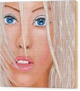 Aguilera Beautiful Wood Print