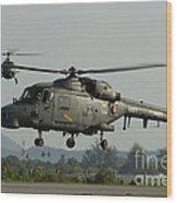 Agustawestland Lynx Helicopters Wood Print