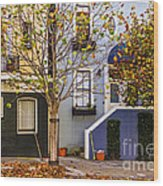 Ah Autumn Wood Print