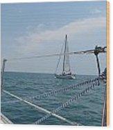 Ahoy Wood Print