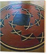 Ahwahnee Hotel Floor Medallion Wood Print