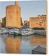 Aigues-mortes  Languedoc-roussillon France Constance Tower Wood Print