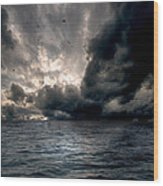 Air And Water No.25 Wood Print